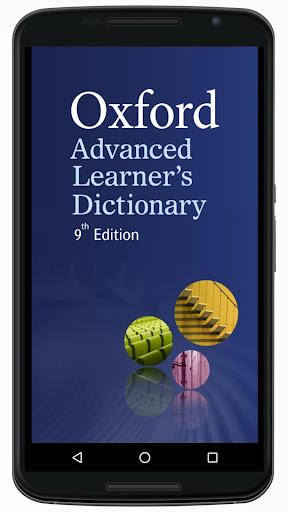 Oxford Advanced Learneru2019s Dictionary, 9th ed. 2015 Apk 2