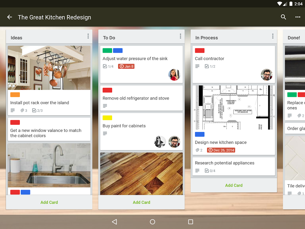 Trello- screenshot