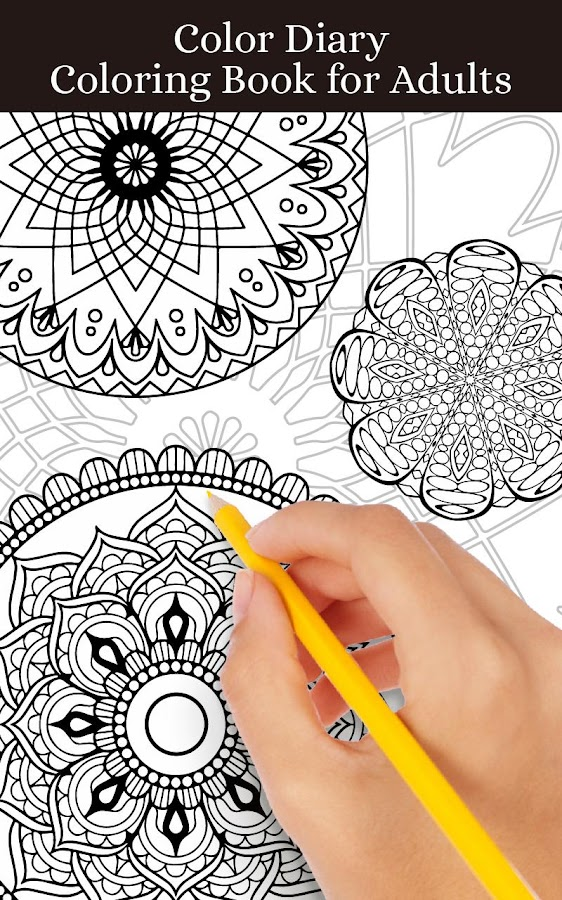 Coloring Book For : Mandalas adult coloring book android apps on google play