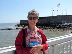 Photo: Elinor at Fort Sumter