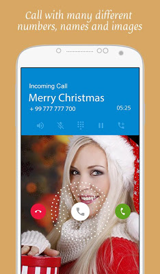 Christmas Fake Call - screenshot