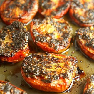 Slow Roasted Tomatoes with Cilantro Recipe