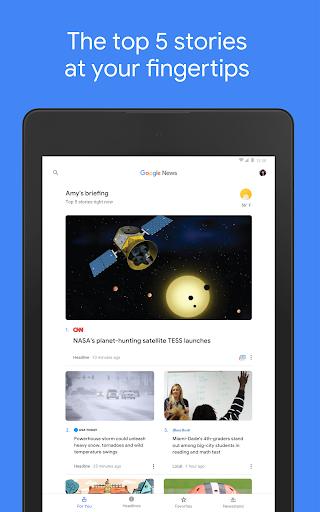 Google News: Top World & Local News Headlines screenshot 7