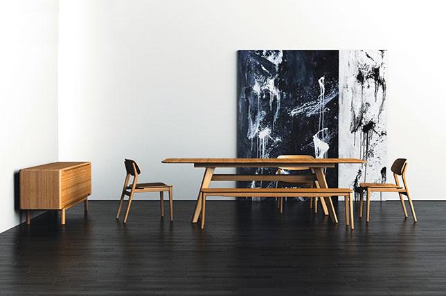 modern hardwood flooring interior design