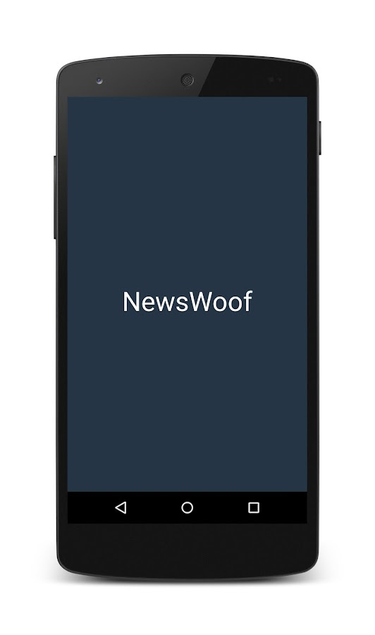 NewsWoof- screenshot