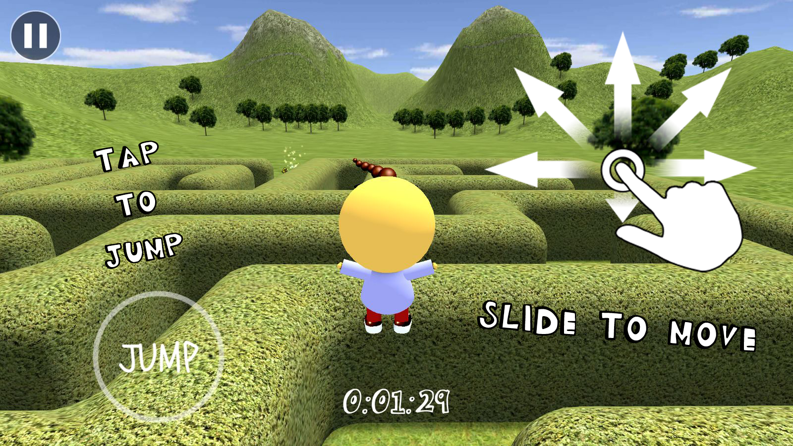 3D Maze / Labyrinth- screenshot