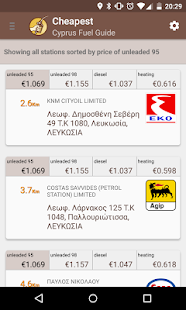 Cyprus Fuel Guide- screenshot thumbnail