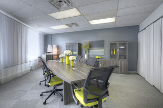 Photo: Aberdeen Conference-Gray Steel-Commute Seating-2