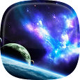 Space Live Wallpaper 🌌 Galaxy Background icon