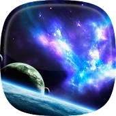 Space Live Wallpaper 🌌 Galaxy Background