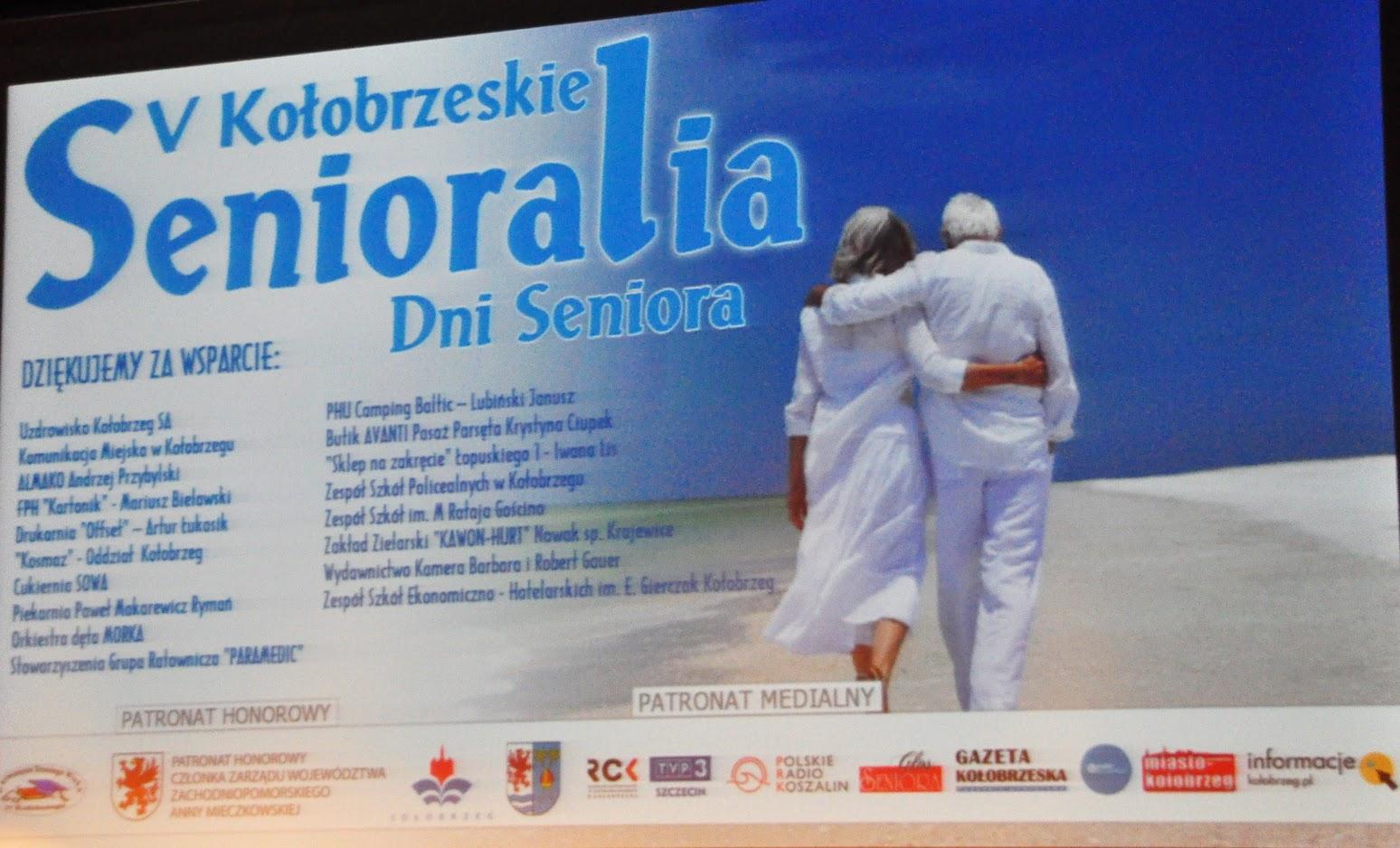 V Kołobrzeskie Senioralia - Dni Seniora