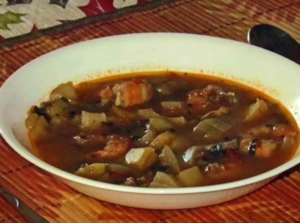 Moroccan Seafood Soup Recipe