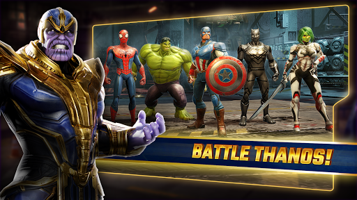 Android/PC/Windows için MARVEL Strike Force Oyunlar (apk) ücretsiz indir screenshot