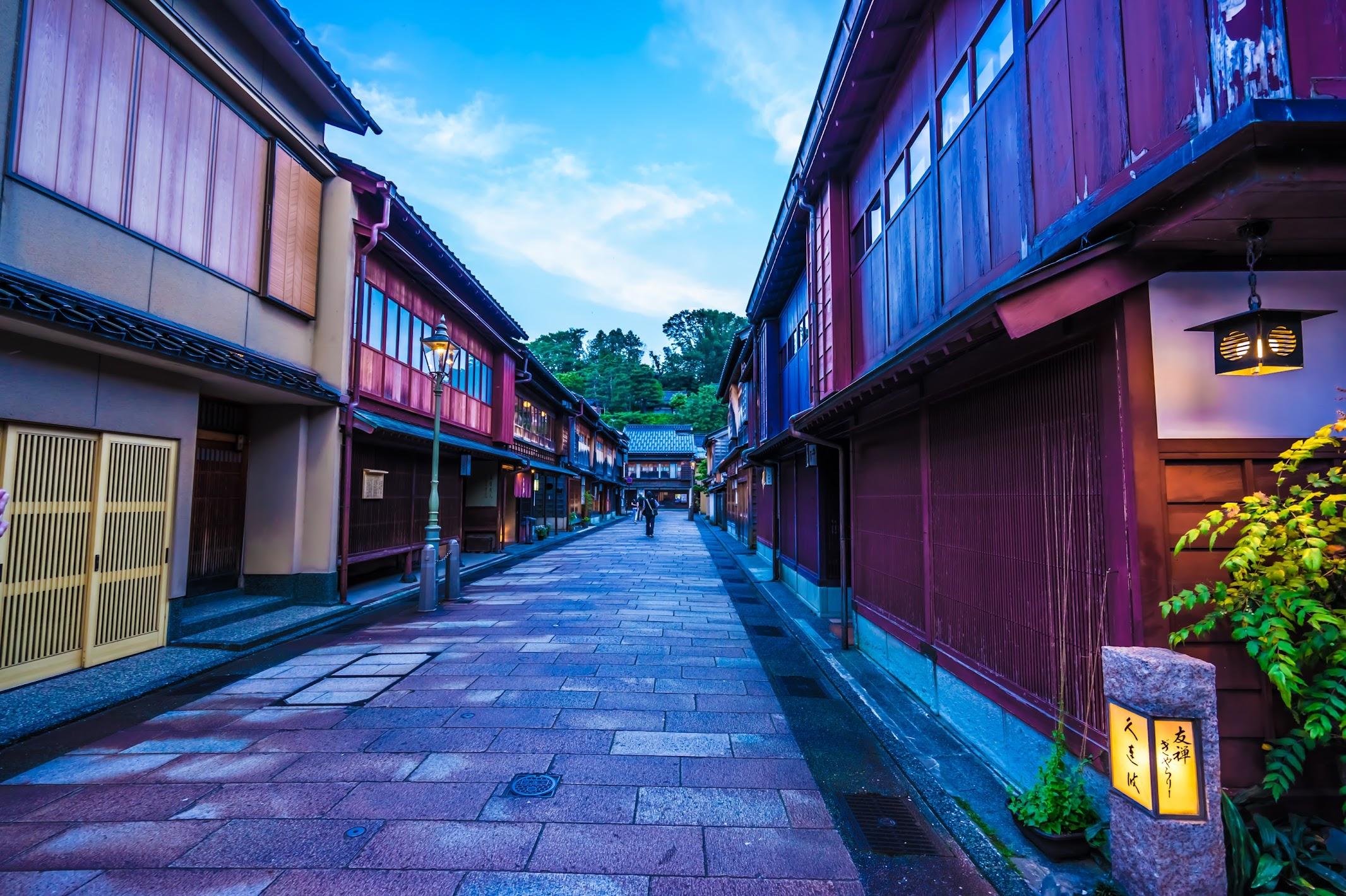 金沢 ひがし茶屋街1