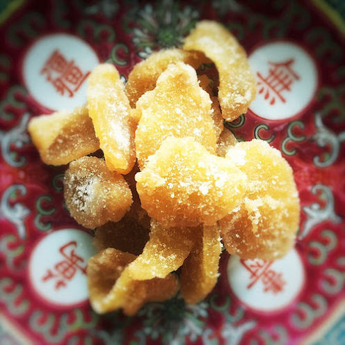 Chinese Candied Ginger 薑糖