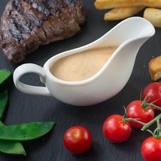Peppercorn Sauce.
