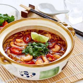 Tom Yum Noodle Soup Recipe