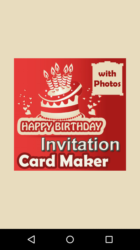 Birthday Invitation Card Maker Android Apps On Google Play - Birthday invitation fonts