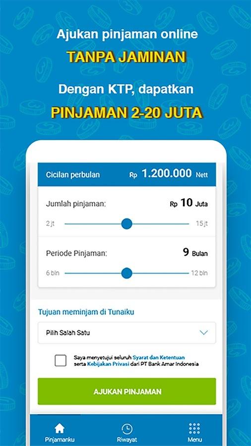 TUNAIKU - Pinjaman Uang Online(KTA) Tanpa Jaminan ...