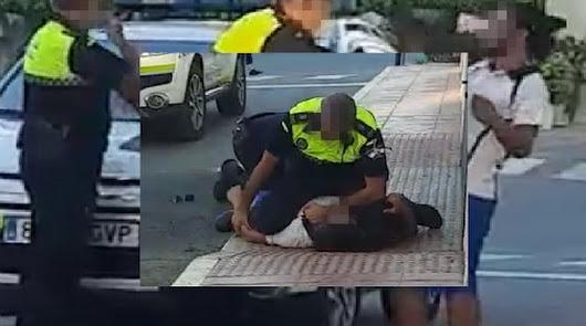 Un joven sin mascarilla escupe y agrede a dos policías en Antas