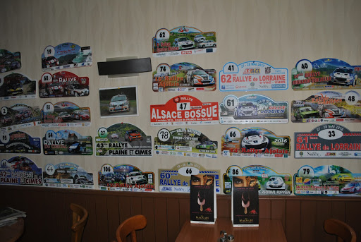 Collection de plaques de rallye
