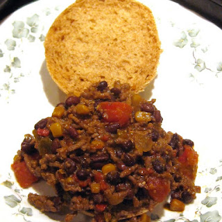 Black Bean Chili Sloppy Joes