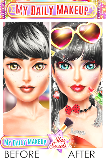 Code Triche My Daily Makeup - Jeu de filles APK MOD screenshots 2