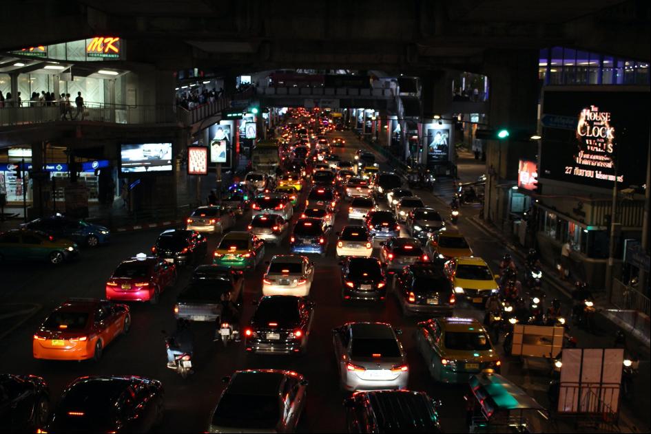 Zápchy v Bangkoku