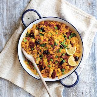Lucy Bee's Chorizo & Chicken Paella