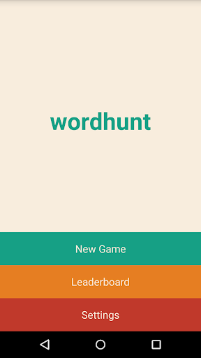 Wordhunt the Word Game
