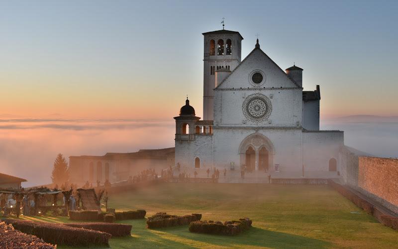 Nebbia al tramonto di MWALTER