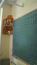 Photo: Одна из классных комнат. Een van de klaslokalen.