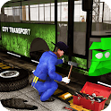 Bus Mechanic Auto Repair Shop icon
