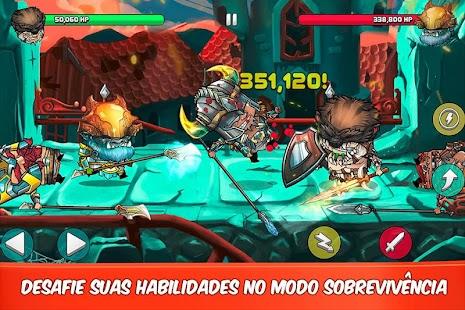 Tiny Gladiators APK + MOD DINHEIRO INFINITO para Android imagem 4