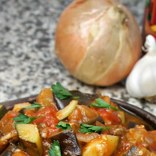 Turkish Eggplant Stew.