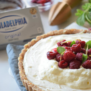 No-Bake Raspberry Cream Cheese Tart