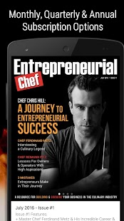 Entrepreneurial Chef- screenshot thumbnail
