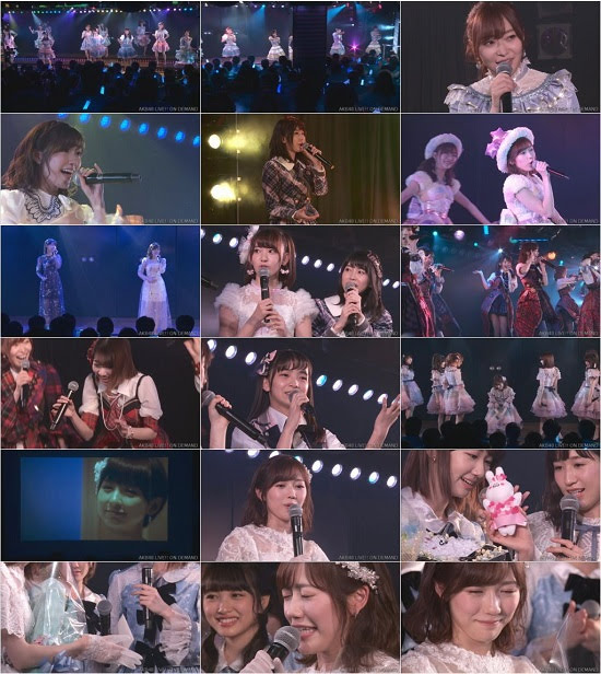 (LIVE)(720p) AKB48 渡辺麻友 卒業公演 Live 720p 171226