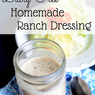 Dairy Free Ranch Salad Dressing