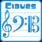 Claves - as notas na pauta icon