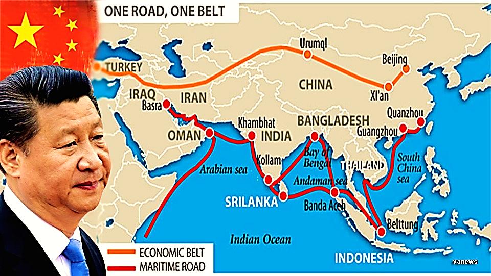 """Kế hoạch """"Một vành đai, Một con đường"""" của Trung Quốc trị giá 1.500 tỉ đô  tiêu tan vì đại dịch COVID-19 – Tâm Bão"""