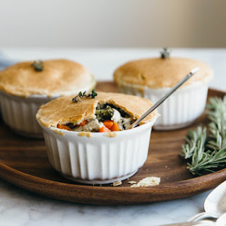Mini Chicken Pot Pies (gluten-free, paleo)