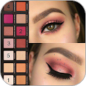 i learn to make up (face, eye, lip) icon