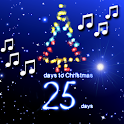 Christmas Countdown with Carols icon
