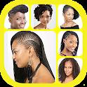非洲妇女的发型 icon