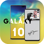 Wallpaper Galaxy S 10 ,S10 Plus & Hide Camera Hole Android APK Download Free By Ptt Studio
