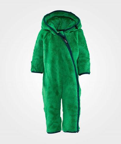 Isbjörn of Sweden Fleece High Loft Jumpsuit Green