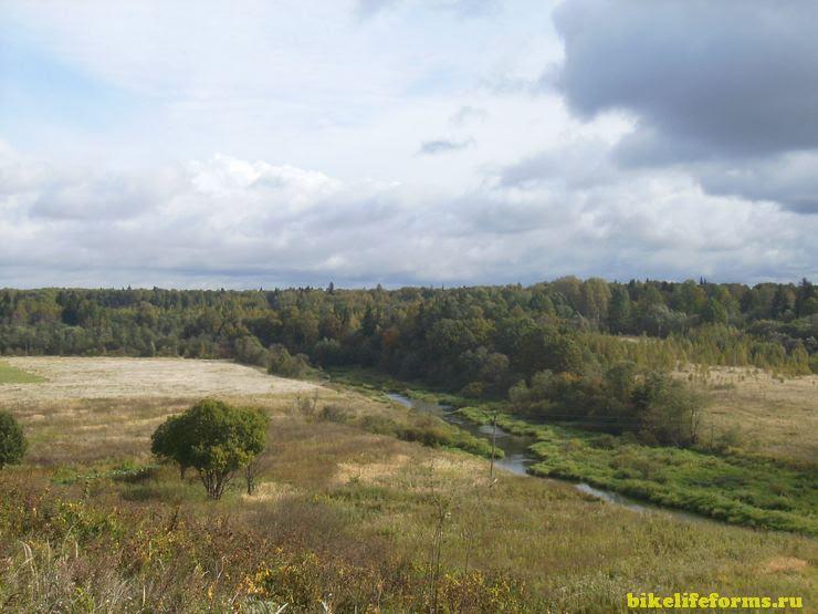 Поселок Карманово, вид с высшей точки