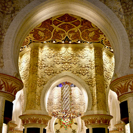 Arches in Mail Hall Sheikh Zayed Mosque by Nadeem M Siddiqui - Buildings & Architecture Places of Worship