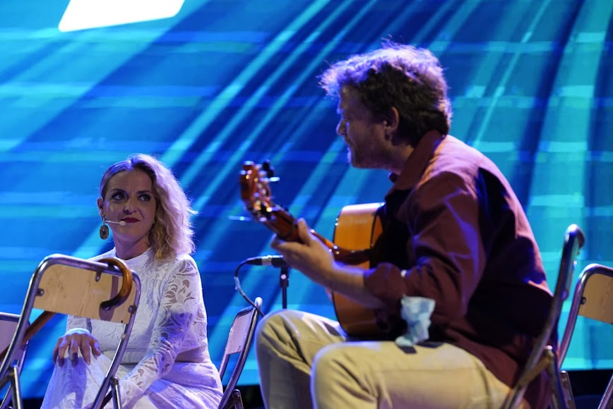 Rocío Zamora al cante y Gabriel Pérez a la guitarra.